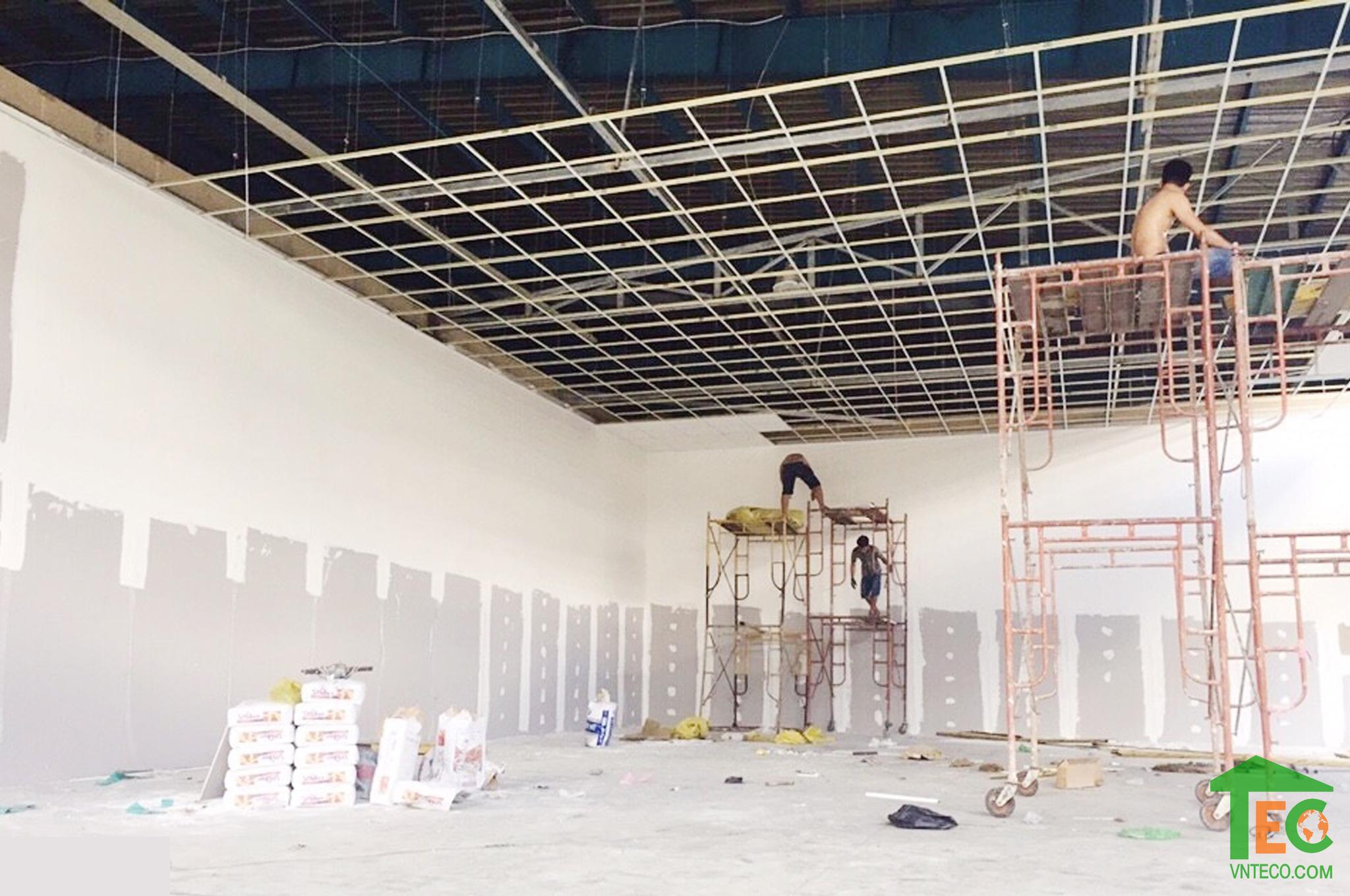 Toàn cảnh công trình thực tế xây nhà xưởng ROEDERS